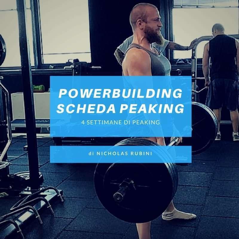Scheda Peaking Powerbuilding
