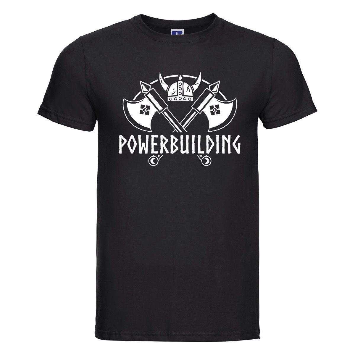 T-Shirt Doppia Ascia Elmo Powerbuilding