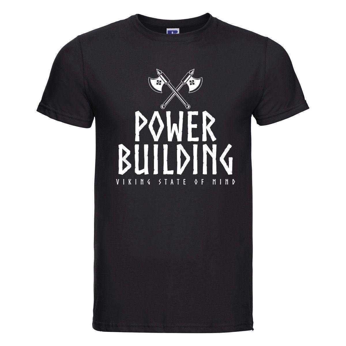 T-Shirt Doppia Ascia Powerbuilding
